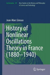 Omslag - History of Nonlinear Oscillations Theory in France (1880-1940) 2017