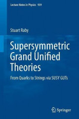 Omslag - Supersymmetric Grand Unified Theories