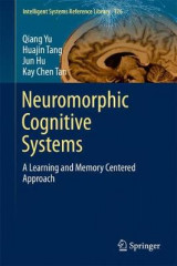 Omslag - Neuromorphic Cognitive Systems: A Learning and Memory Centered Approach 2017