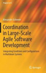 Omslag - Coordination in Large-Scale Agile Software Development 2017