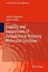 Omslag - Stability and Suppression of Turbulence in Relaxing Molecular Gas Flows