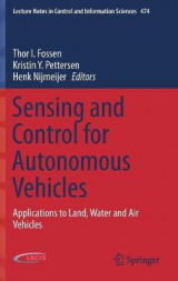 Omslag - Sensing and Control for Autonomous Vehicles
