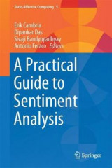 Omslag - A Practical Guide to Sentiment Analysis 2017