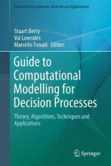 Omslag - Guide to Computational Modelling for Decision Processes 2017