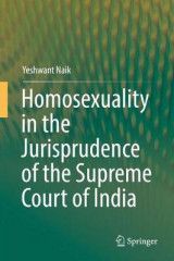 Omslag - Homosexuality in the Jurisprudence of the Supreme Court of India 2017