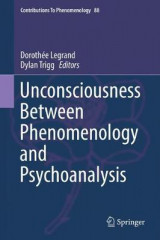 Omslag - Unconsciousness Between Phenomenology and Psychoanalysis