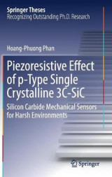 Omslag - Piezoresistive Effect of p-Type Single Crystalline 3C-SiC 2017
