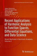 Omslag - Recent Applications of Harmonic Analysis to Function Spaces, Differential Equations, and Data Science