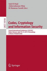 Omslag - Codes, Cryptology and Information Security