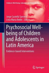 Omslag - Psychosocial Well-Being of Children and Adolescents in Latin America