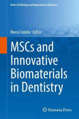 Omslag - MSCs and Innovative Biomaterials in Dentistry 2017