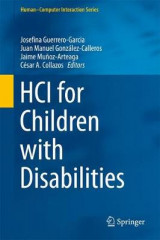 Omslag - HCI for Children with Disabilities