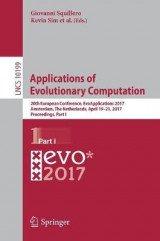 Omslag - Applications of Evolutionary Computation: Part I
