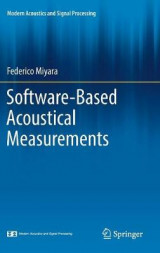 Omslag - Software-Based Acoustical Measurements