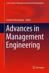 Omslag - Advances in Management Engineering
