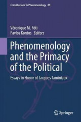Omslag - Phenomenology and the Primacy of the Political