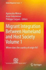 Omslag - Migrant Integration Between Homeland and Host Society: Volume 1