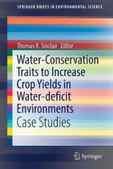 Omslag - Water-Conservation Traits to Increase Crop Yields in Water-Deficit Environments 2017