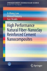 Omslag - High Performance Natural Fiber-Nanoclay Reinforced Cement Nanocomposites 2017