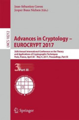 Omslag - Advances in Cryptology - Eurocrypt 2017: Part III