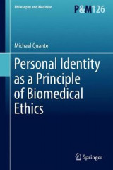 Omslag - Personal Identity as a Principle of Biomedical Ethics 2017