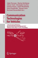 Omslag - Communication Technologies for Vehicles 2017