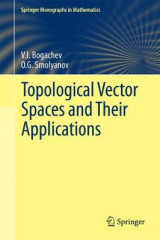 Omslag - Topological Vector Spaces and Their Applications