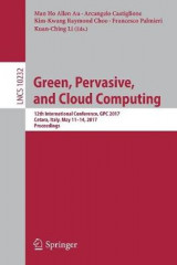 Omslag - Green, Pervasive, and Cloud Computing 2017