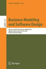 Omslag - Business Modeling and Software Design