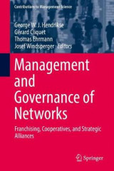 Omslag - Management and Governance of Networks