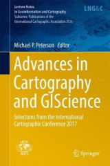 Omslag - Advances in Cartography and Giscience 2017