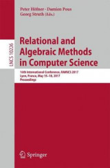 Omslag - Relational and Algebraic Methods in Computer Science 2017