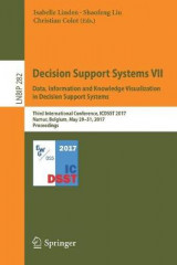 Omslag - Decision Support Systems VII. Data, Information and Knowledge Visualization in Decision Support Systems