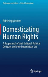 Omslag - Domesticating Human Rights 2017
