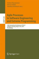 Omslag - Agile Processes in Software Engineering and Extreme Programming 2017