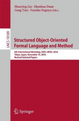 Omslag - Structured Object-Oriented Formal Language and Method 2017
