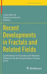 Omslag - Recent Developments in Fractals and Related Fields