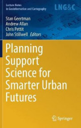 Omslag - Planning Support Science for Smarter Urban Futures