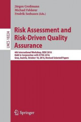 Omslag - Risk Assessment and Risk-Driven Quality Assurance 2017