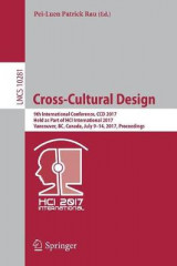 Omslag - Cross-Cultural Design 2017