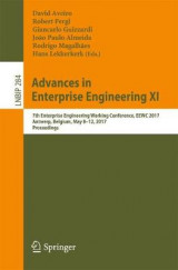 Omslag - Advances in Enterprise Engineering Xi 2017