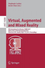 Omslag - Virtual, Augmented and Mixed Reality 2017