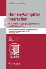 Omslag - Human-Computer Interaction. User Interface Design, Development and Multimodality: Part I