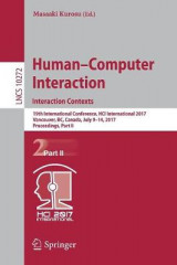 Omslag - Human-Computer Interaction. Interaction Contexts 2017: Part II