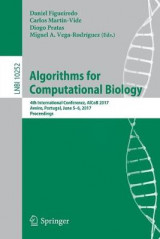 Omslag - Algorithms for Computational Biology 2017