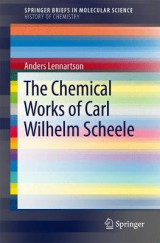 Omslag - The Chemical Works of Carl Wilhelm Scheele 2017