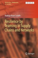 Omslag - Resilience by Teaming in Supply Chains and Networks 2018