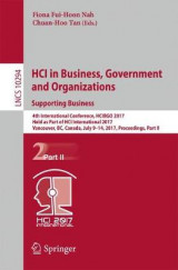 Omslag - Hci in Business, Government and Organizations. Supporting Business: Part II