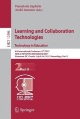 Omslag - Learning and Collaboration Technologies. Technoloy in Education 2017: Part II