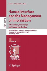 Omslag - Human Interface and the Management of Information: Information, Knowledge and Interaction Design 2017: Part I